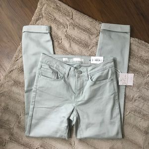 NWT {Lauren Conrad} Cuffed Skinny Ankle Jeans